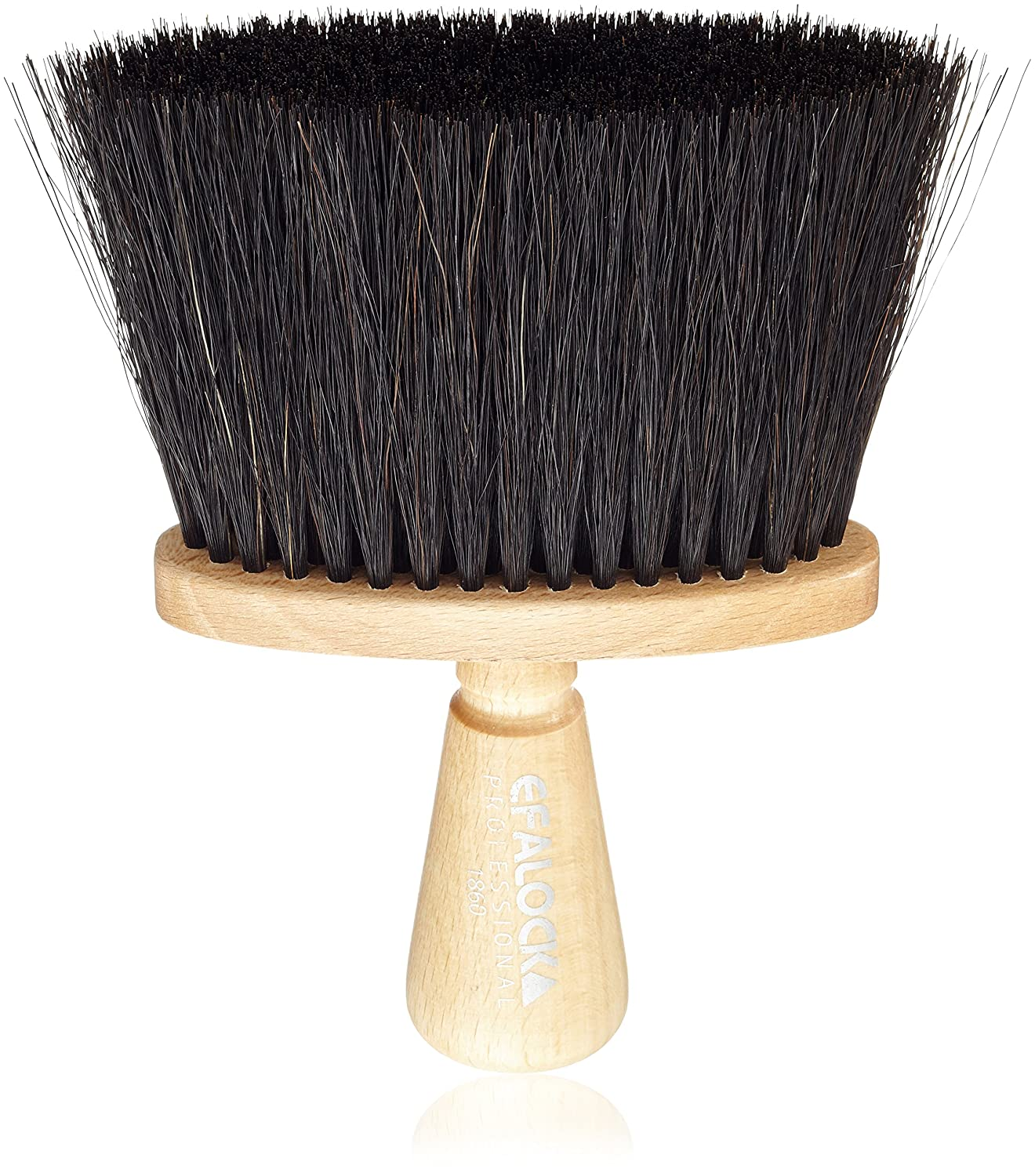 Efalock Neck Brush Natural Bristles Pack of 1 (1 Pack) 96325296