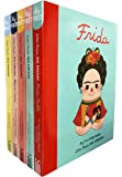 Little People, Big Dreams Collection 6 Books Bundle (Marie Curie,Maya Angelou,Audrey Hepburn,Coco Chanel,Frida Kahlo,Agatha Christie)