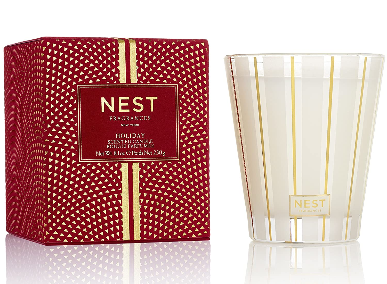 NEST Fragrances Classic Candle- Holiday, 8.1 oz
