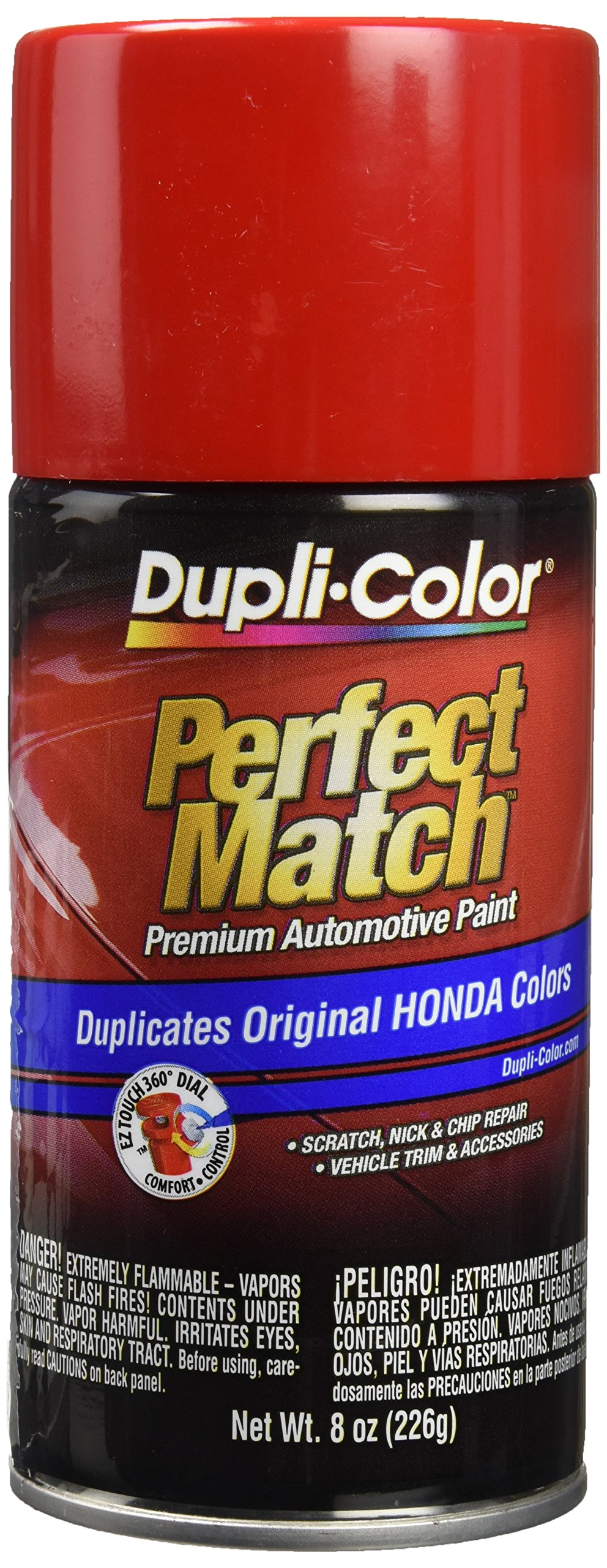 Dupli-Color EBHA09750 Red 8 Oz Rallye Red R513 Perfect Match Premium Automotive Paint, 8 Oz by Dupli-Color