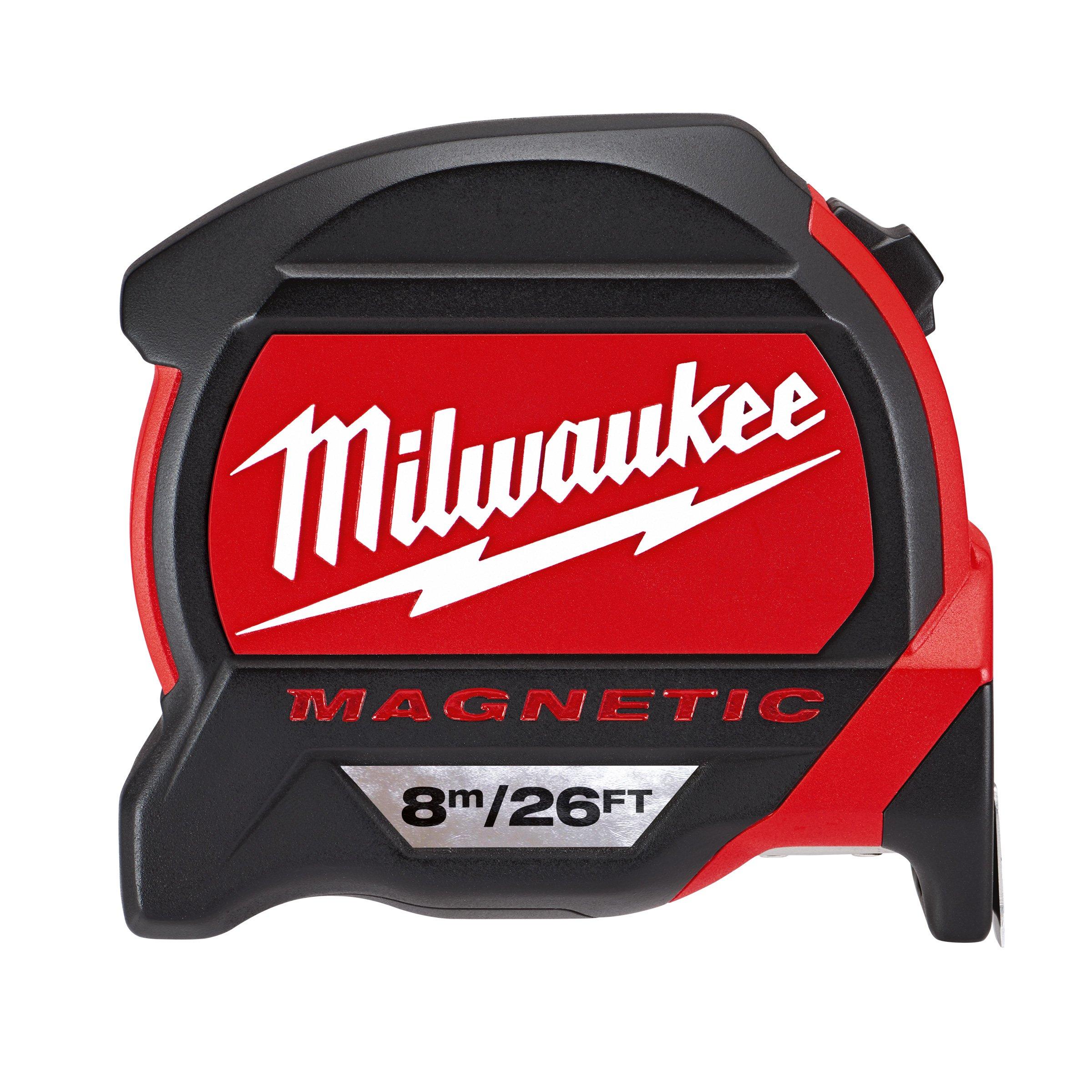 Milwaukee 8 m/26 ft. Premium Magnetic Tape Measure