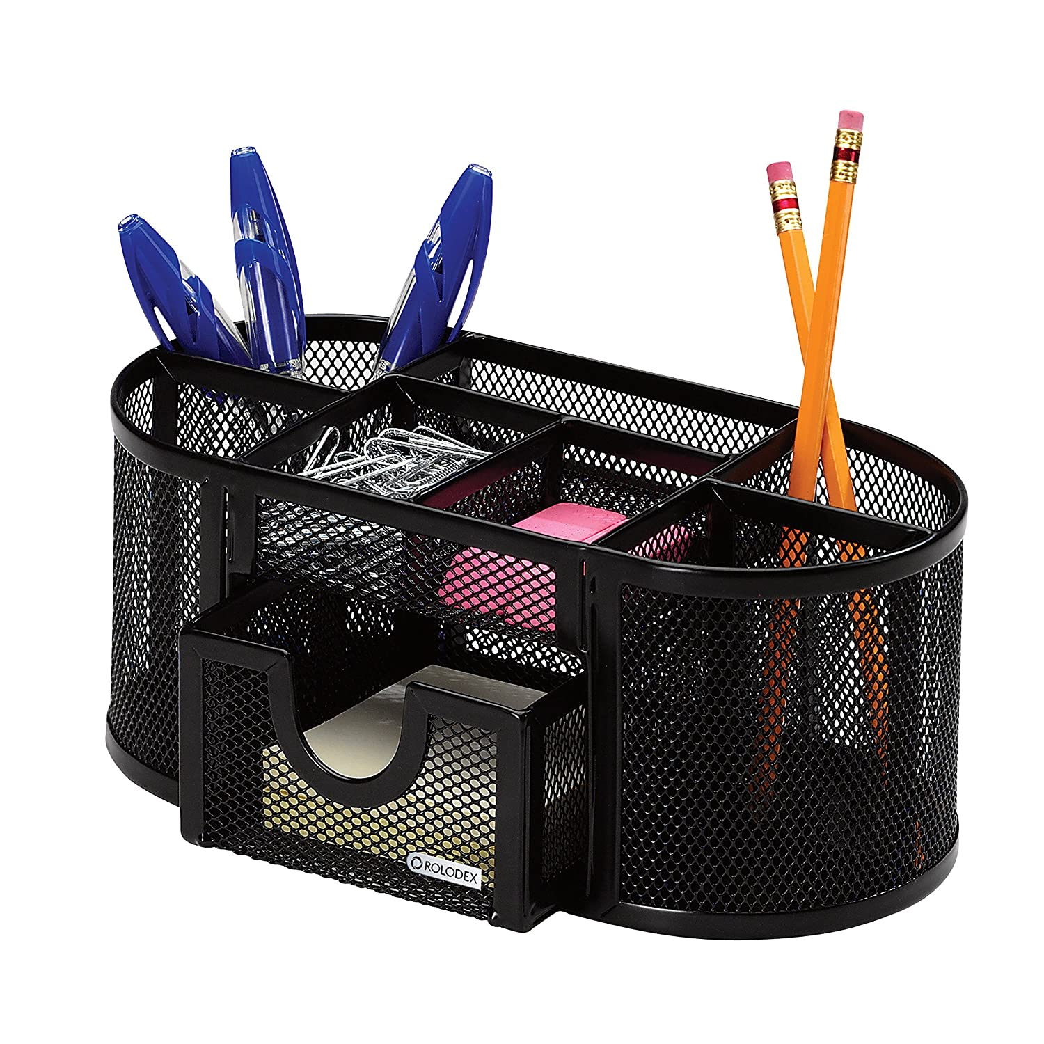Amazoncom Rolodex Mesh Pencil Cup Organizer Four Compartments