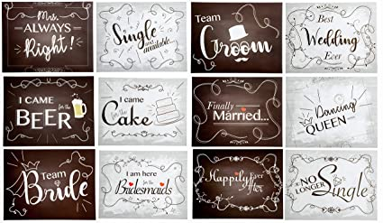 a0249ef80dd5 Image Unavailable. Image not available for. Color  Wedding Photo Booth Party  ...