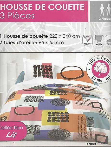 Copripiumino Marche.Maison Marques Casa Marche Copripiumino In Coton 220 X 240 Cm