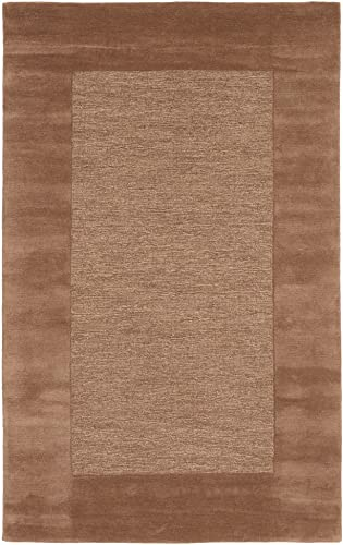 Liora Manne Madrid Border Rug, 5 by 8-Feet, Brown