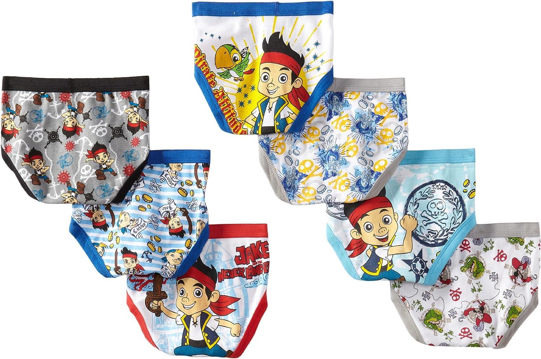 Disney Boys Jake 7-Pack Brief Underwear