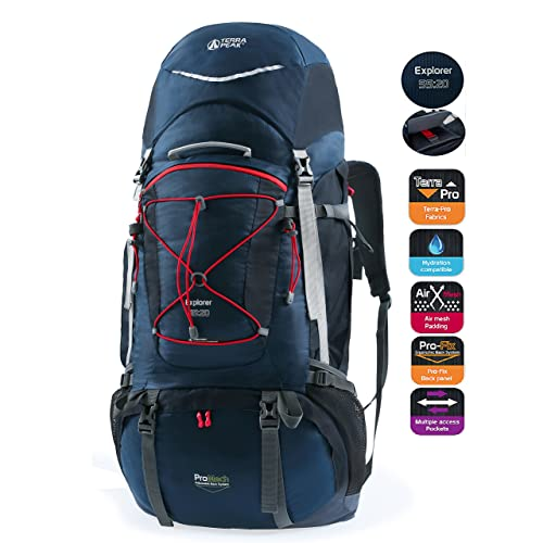 TERRA PEAK 55L/65L/85L+20L for Men Women