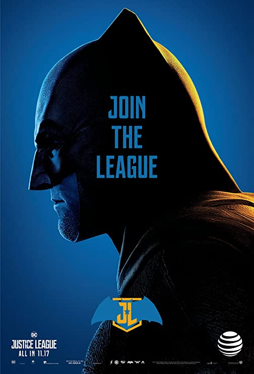 AT/&T Exclusive Justice League 5 Poster Collection