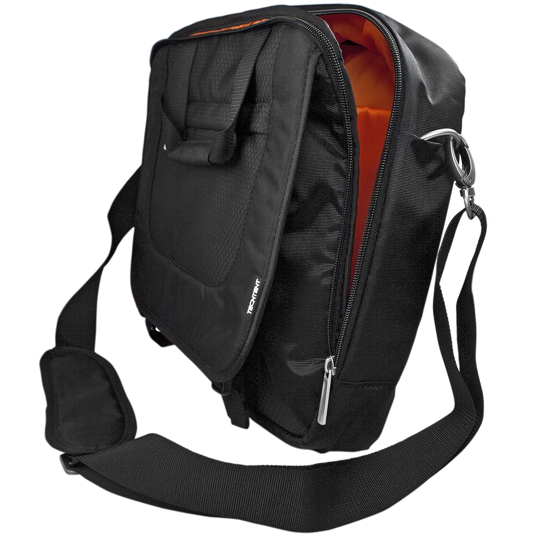 Amazon.com: TechTent® 14.1 Inch Nylon Laptop / Notebook Computer / Macbook / Tablet Shoulder Bag, Black | FAST SHIPPING: Computers & Accessories