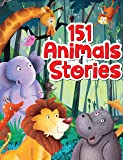 151 Animal Stories - Padded & Glitered Book