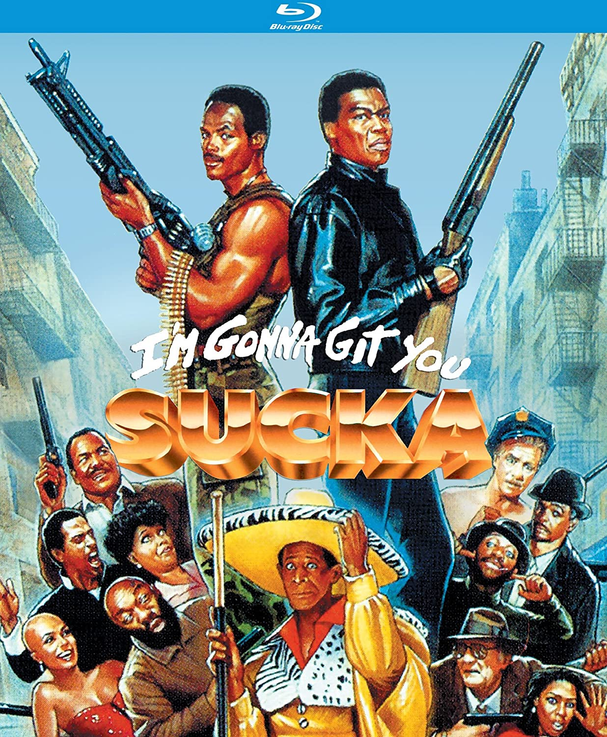 I'm Gonna Git You Sucka (1988) [Blu-ray]
