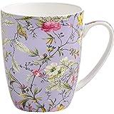Maxwell & Williams wk11400Kilburn tazza Winter Bloom, confezione regalo, porcellana, lilla/multicolore