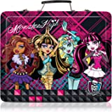 150pc Kids Art Supplies Set Gift Tin Case Stationary Art and Craft Kit Organizer Drawing Monster High