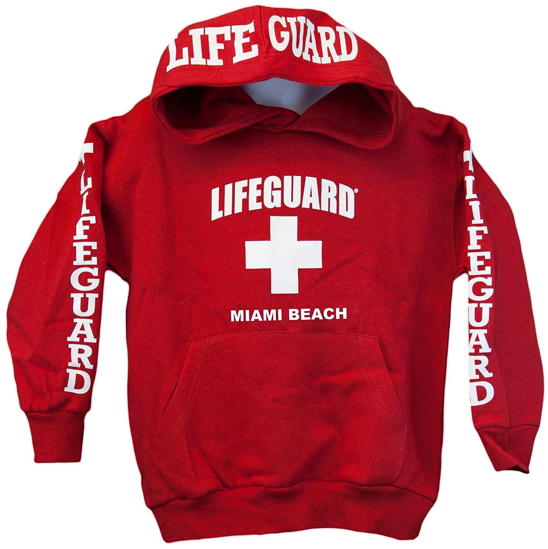 Amazon.com: Lifeguard Kids Miami Beach Florida Life Guard ...