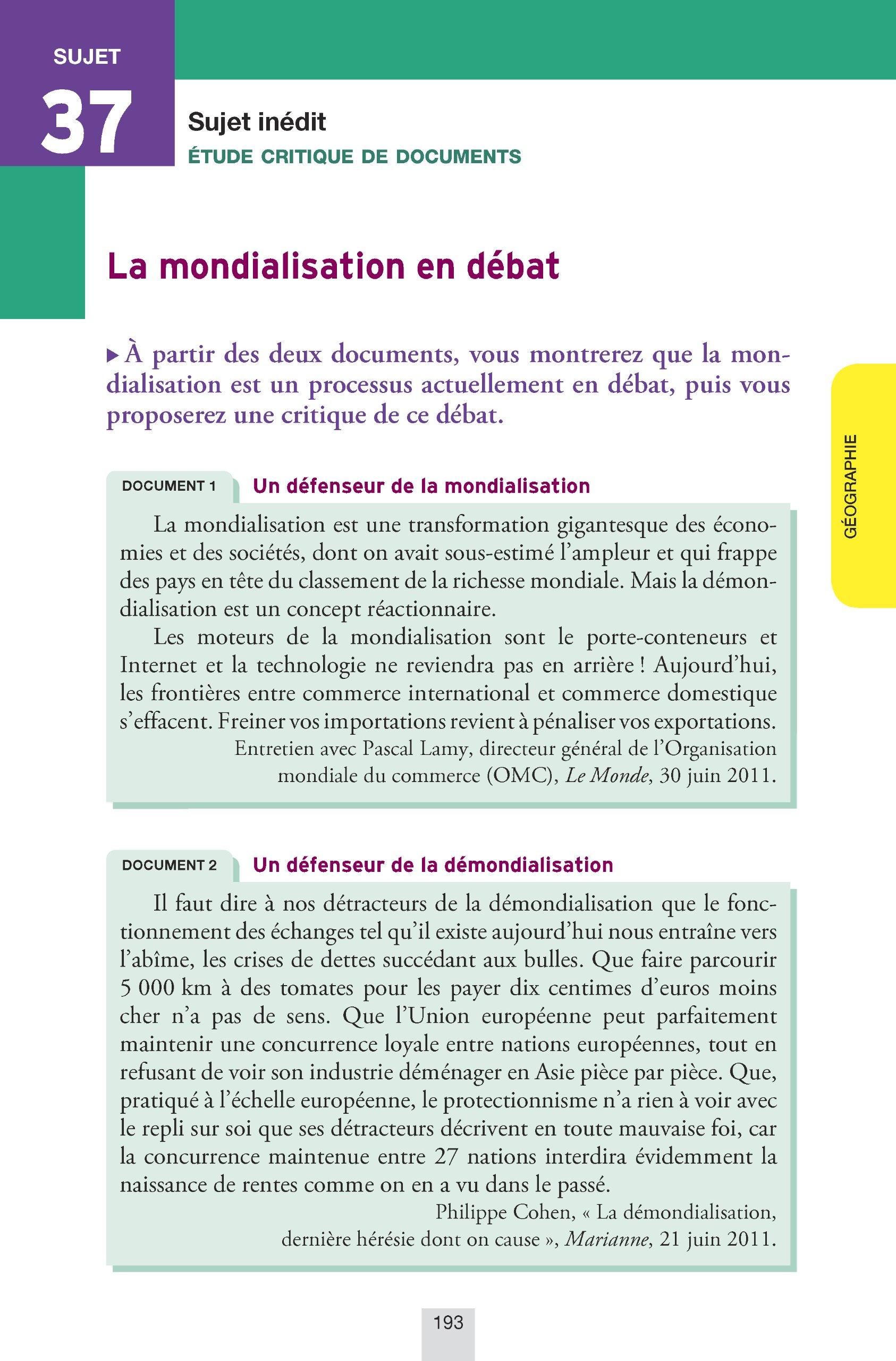 Annales Annabac 2013 Histoire-Géographie Tle L, ES: Sujets et corrigés du bac (Histoire et Géographie) - Terminale L, ES: 9782218957987: Amazon.com: ...