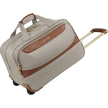 Tommy Bahama 20  Wheeled Duffle Bag Suitcase Luggage, Brown