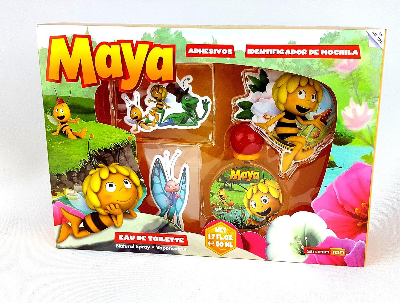 Estuche Abeja Maya Colonia 50ml + Adhesivos: Amazon.es: Salud y cuidado personal