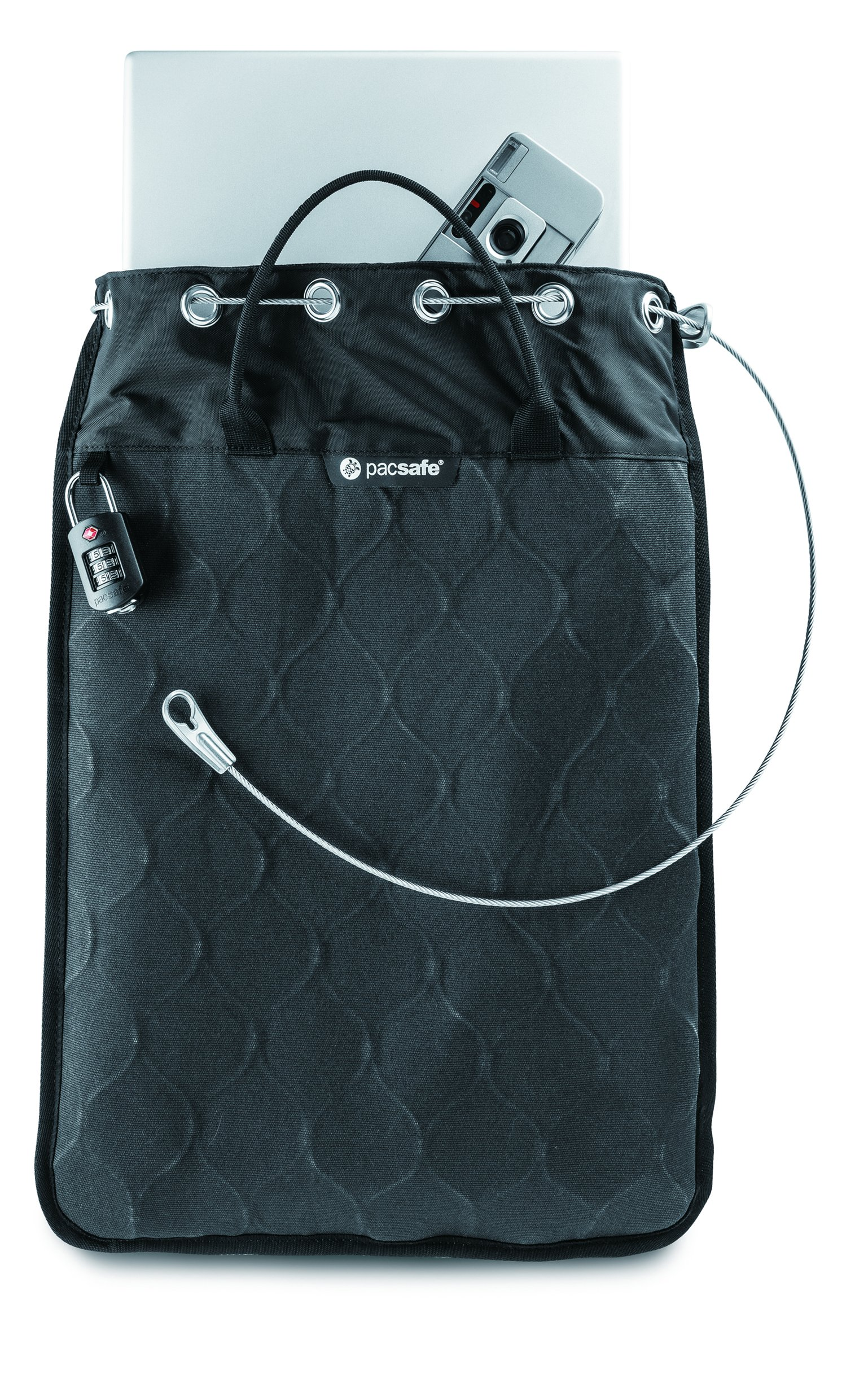 Pacsafe Travelsafe 12L GII Portable Safe, Charcoal by Pacsafe (Image #10)