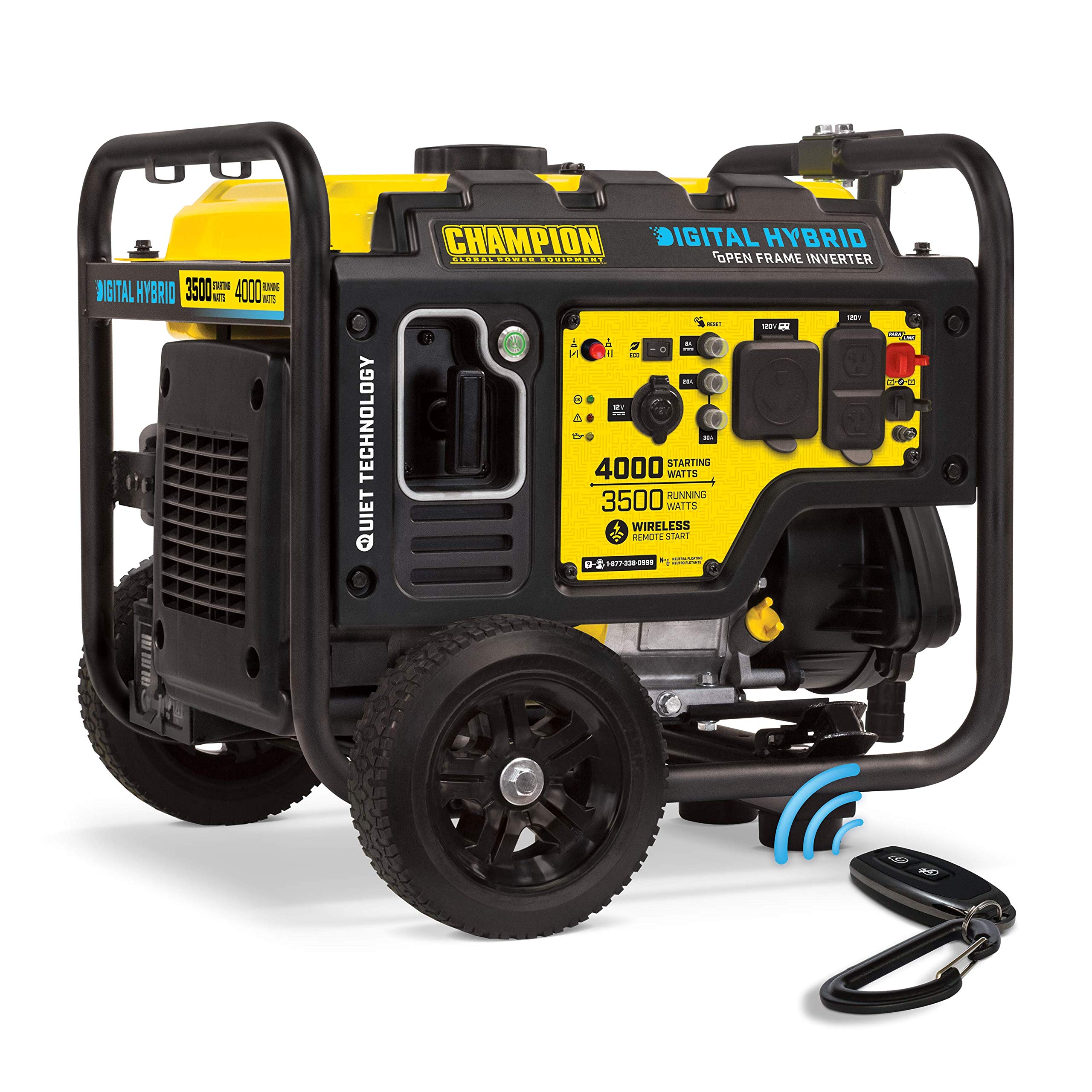 Champion Power Equipment 100573 4000-Watt DH Series