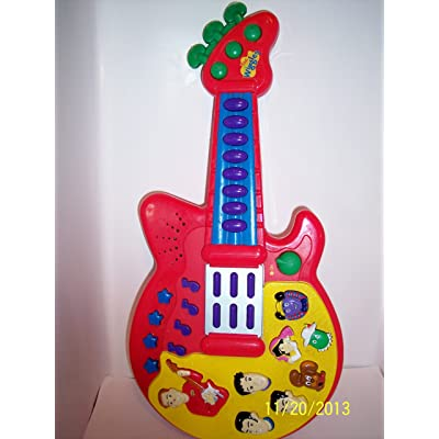 The Wiggles Musical Guitar By Spin Master: Toys & Games [5Bkhe1404431]