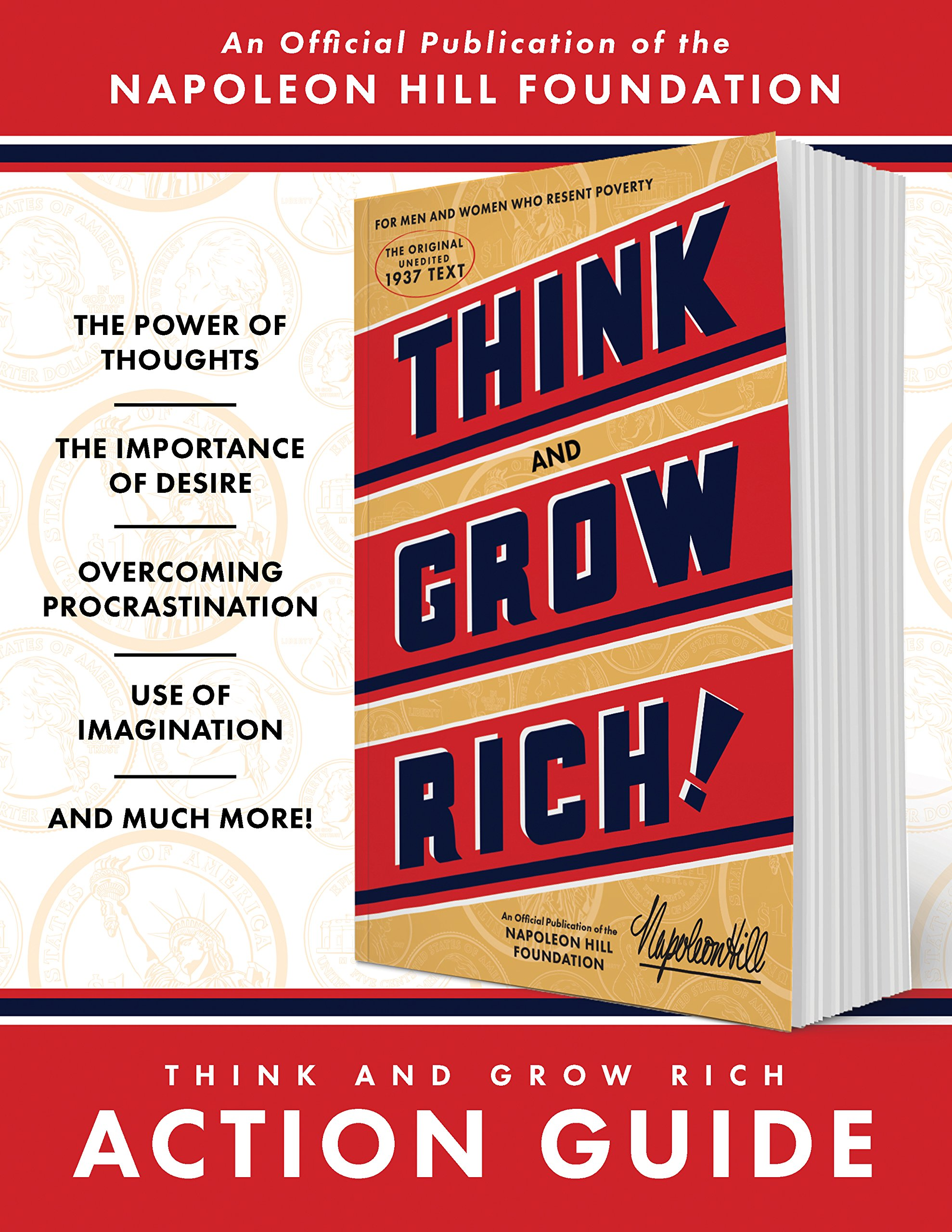 Think and Grow Rich Action Guide: An Official Publication of the Napoleon  Hill Foundation: Napoleon Hill Foundation, Napoleon Hill: 9781937879907: ...