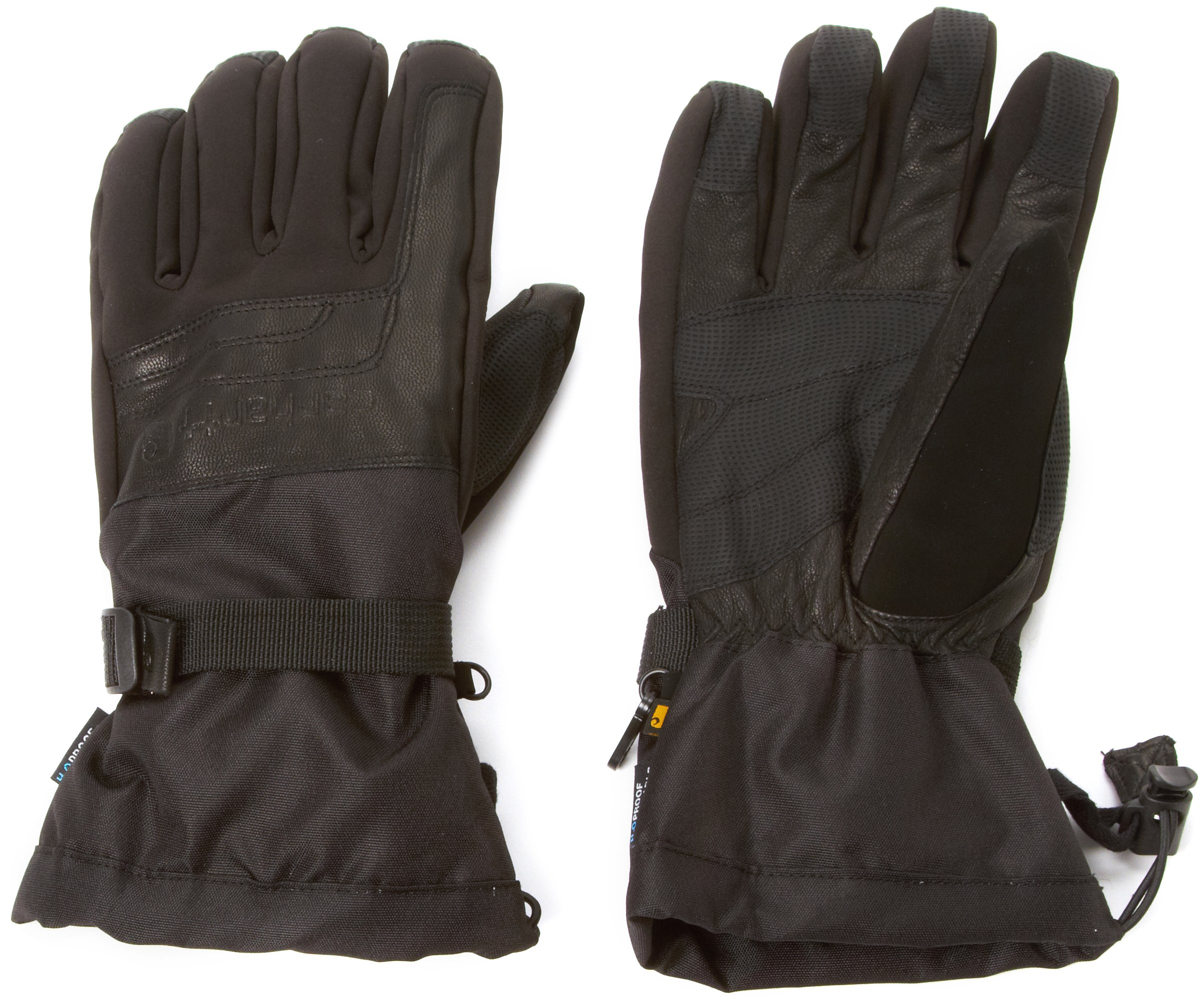 Carhartt Men's Cold Snap Insulated Work Glove, Black, XX-Large