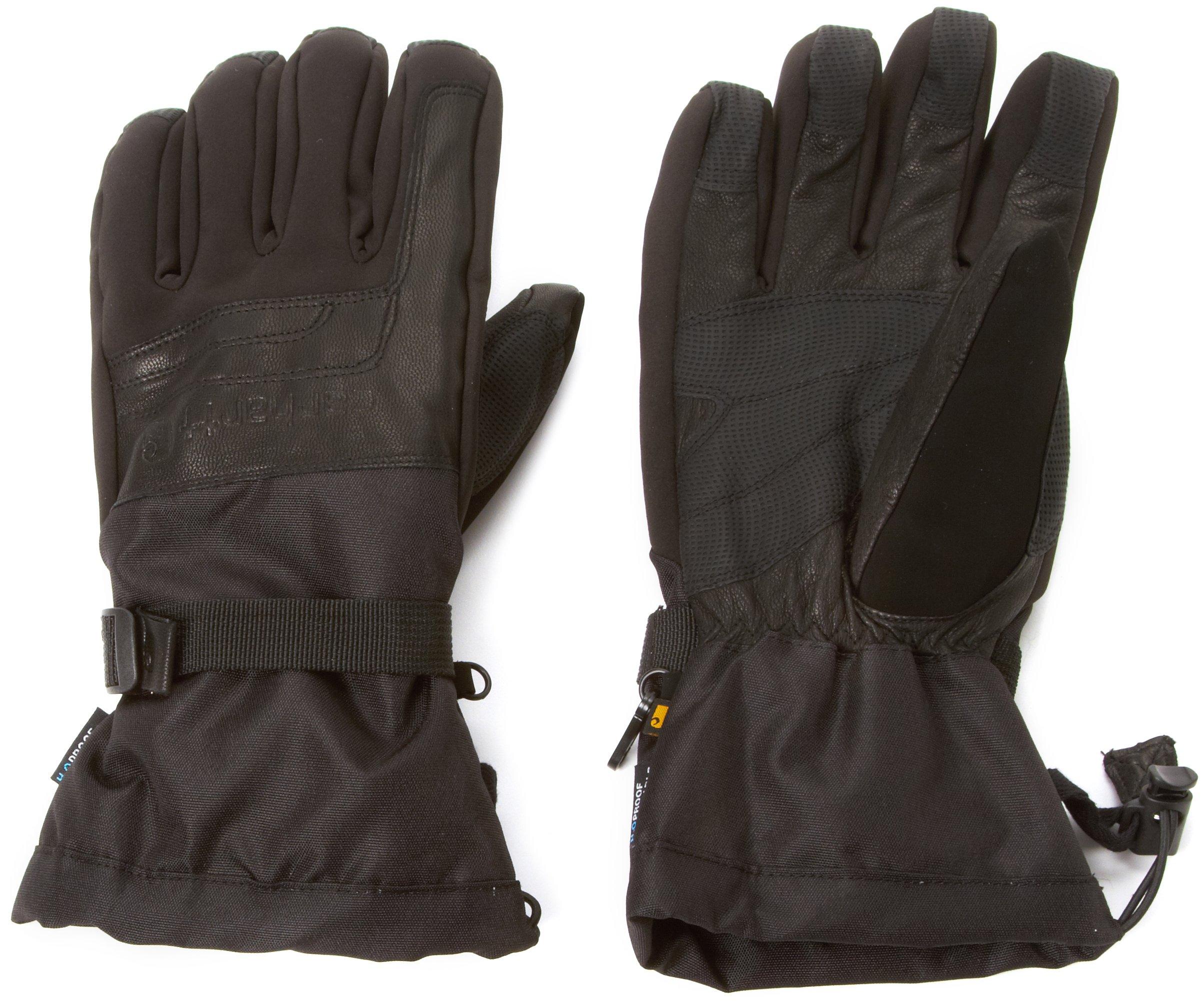 Carhartt Men's Cold Snap Insulated Work Glove, Black, Medium