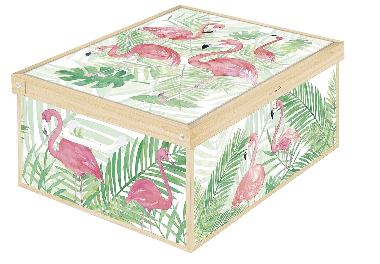 39 x 50 x 24 cm LAVATELLI Caja en Cart/ón Gris