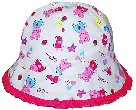 03f2e057482e0 Peppa Pig Cap Sun Hat Girls 1-6 Years (1-2 Years)  Amazon.co.uk ...