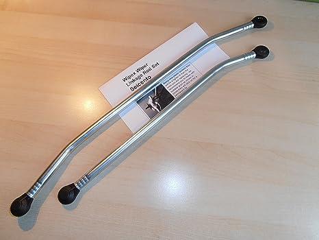 Motor para limpiaparabrisas Kit de varillas de empuje para acoplamiento. WIPEX Kit 216