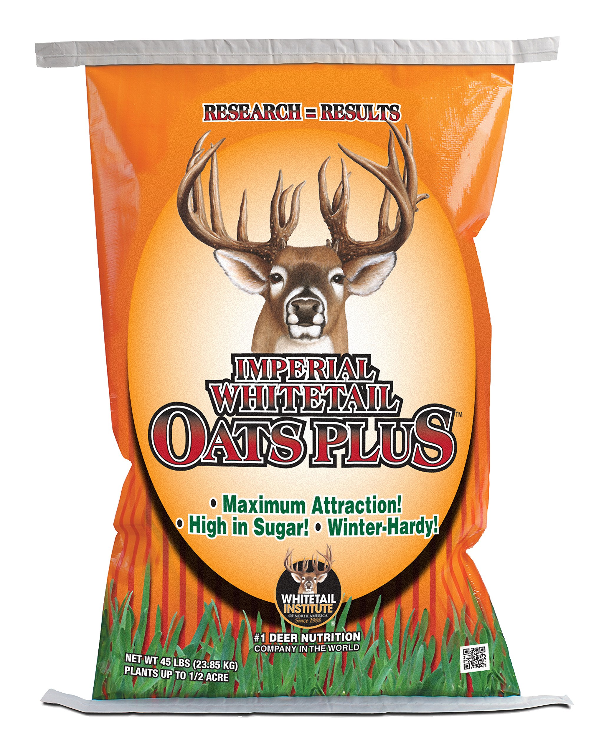 Whitetail Institute Imperial Oats Plus Food Plot Seed, 45 Lbs by Whitetail Institute