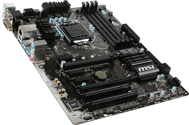 Z170A SLI Plus MSI Pro Solution Intel Z170A  LGA 1151 DDR4 USB 3.1 ATX Motherboard