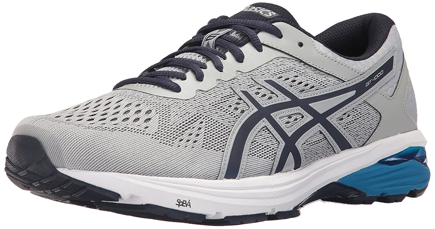 72d746494178 ASICS Men s s Mens Gt-1000 6 Running Shoe Grey  Amazon.co.uk  Shoes   Bags