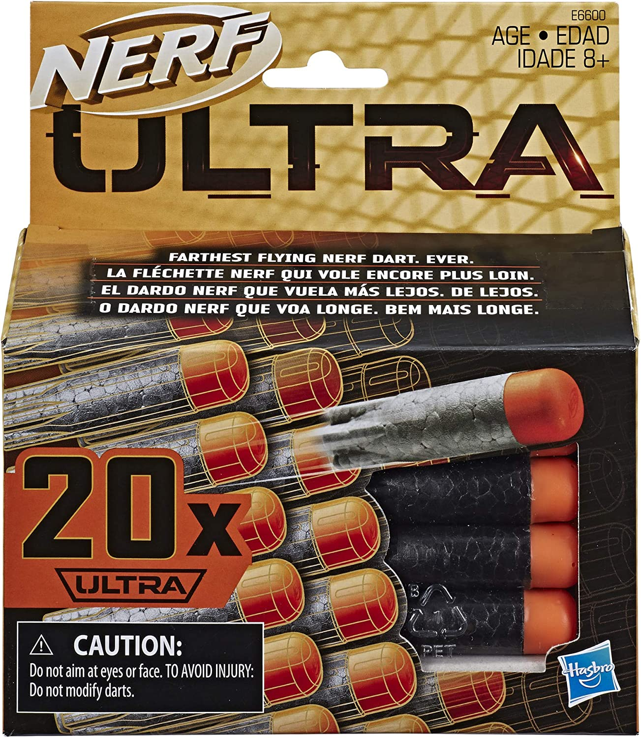 NERF Ultra One 20-Dart Refill Pack -- The Farthest Flying Darts Ever -- Compatible Only with Ultra Blasters
