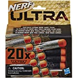 Nerf Ultra 20 Dart Refill Pack - The Farthest Flying Nerf Darts Ever - Compatible Only with Nerf Ultra Blasters - Kids…