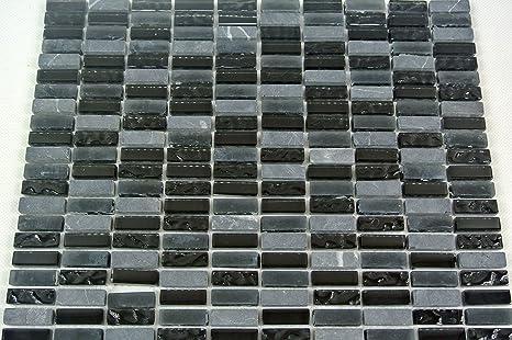 Piastrelle mosaico mosaico piastrelle bagno cucina vetro pietra