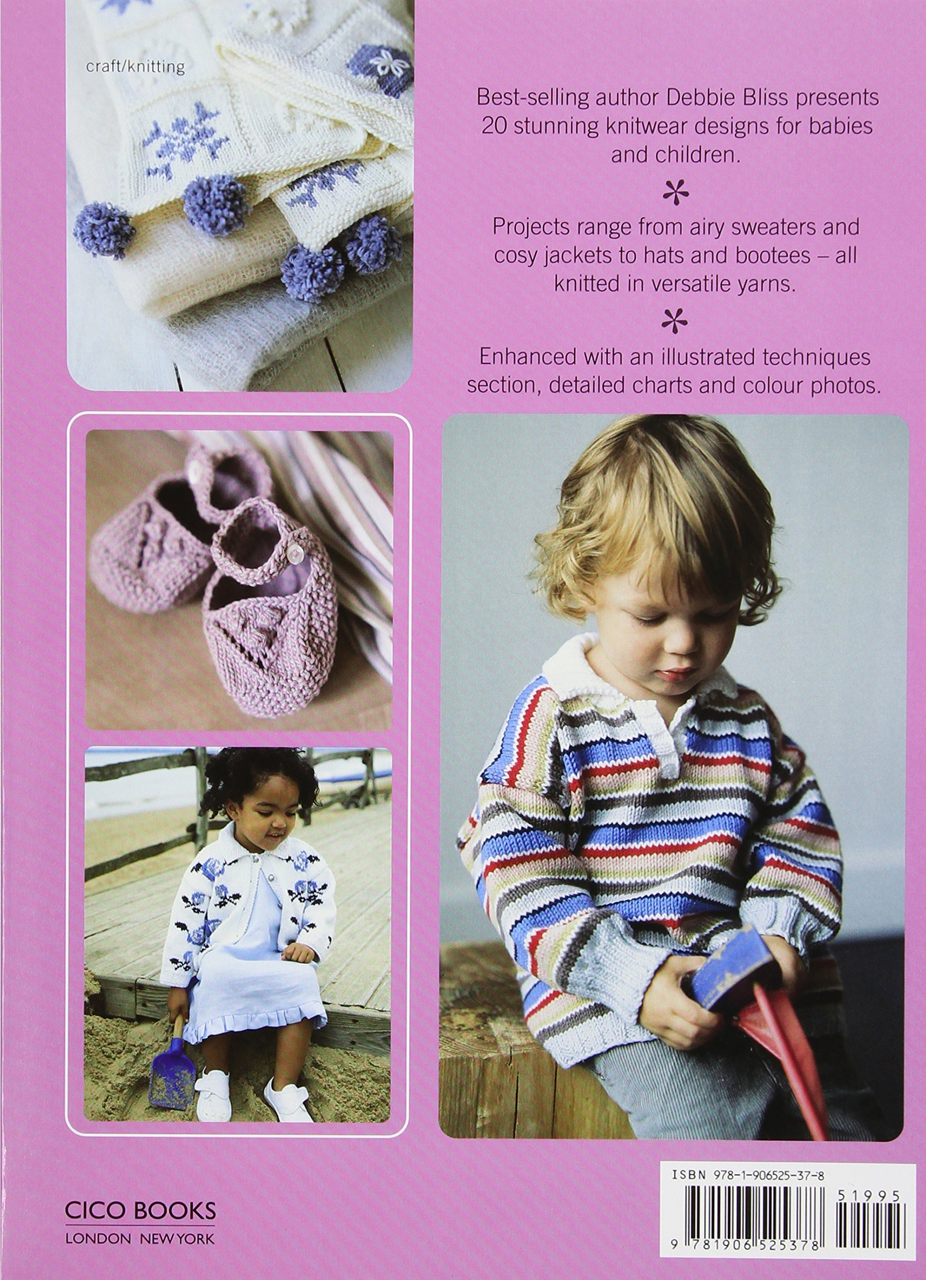 amazon com debbie bliss baby and toddler knits 20 gorgeous