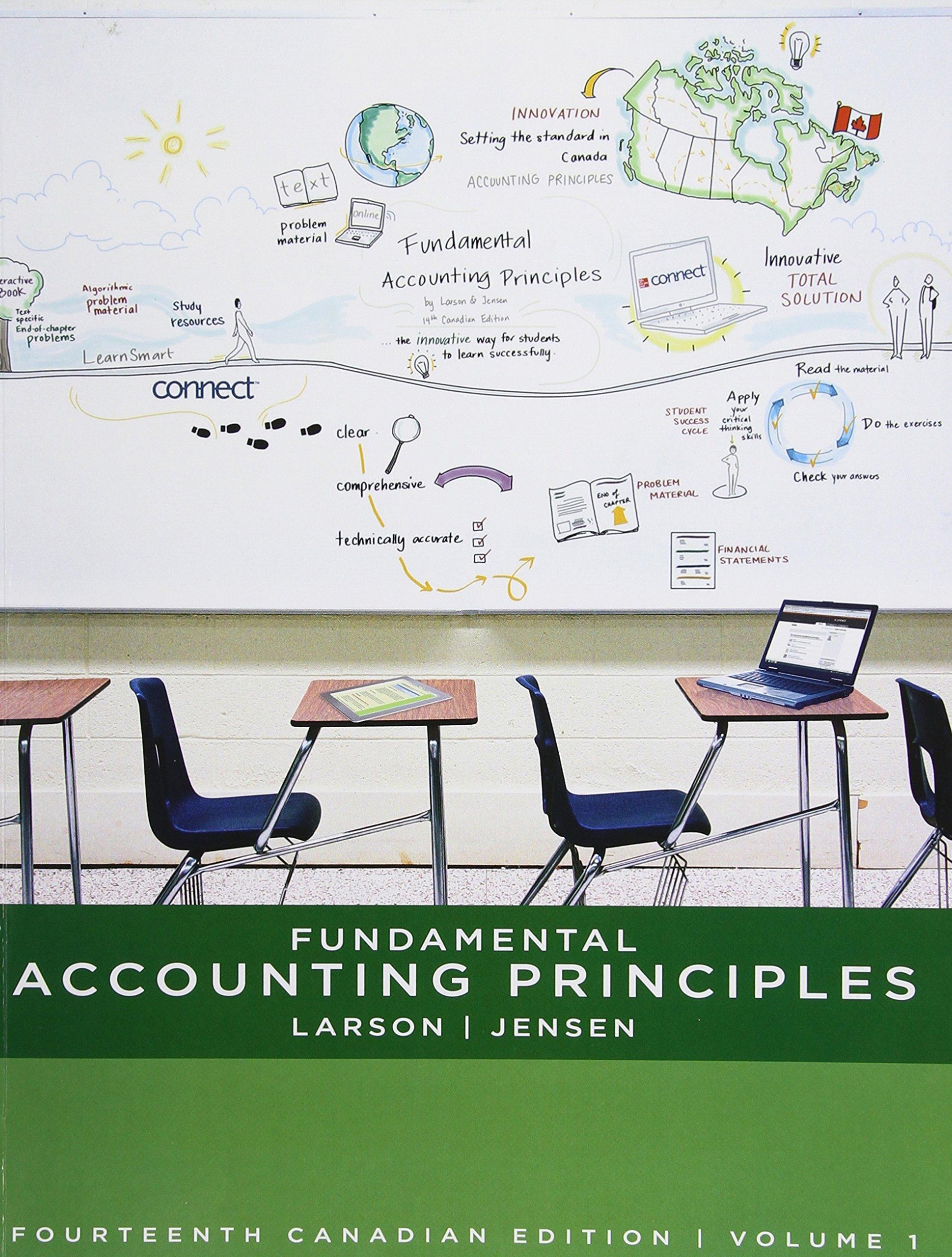fundamental accounting principles volume 1 larson jensen rh amazon com Principles of Accounting Cheat Sheet solution manual according to accounting principles 10th edition