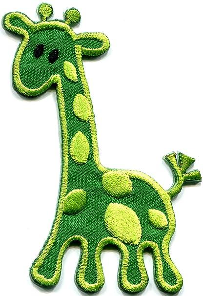 Amazon Com Giraffe Baby Green Animal Kids Fun Wildlife
