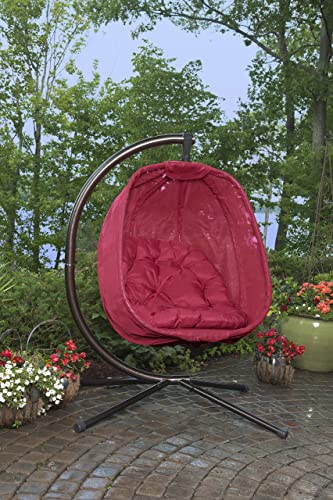 Flower House FHEC100-RD Egg Chair