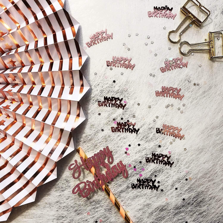 Welle /Couleur au Choix/ /pour Anniversaire Oblique de Unique/® Lot de pailles pailles 25/ f/ête d/écoration de Mariage Gold-Weiss f/ête