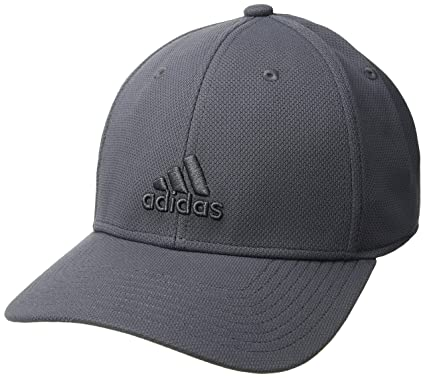 a971bfa6255 Amazon.com  adidas Men s Rucker Stretch Fit Cap  Sports   Outdoors