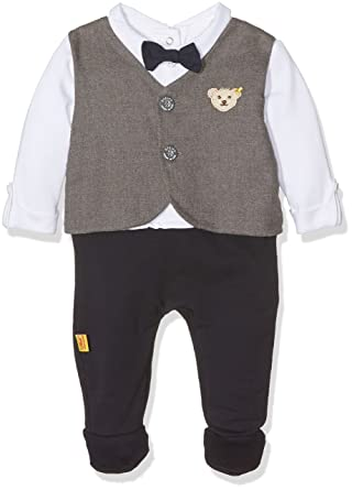 Steiff Baby Jungen Strampler Anzug Special Day 6642831