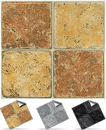 30 Stück Fliesenaufkleber Für Küche Und Bad (Tile Style Decals 30xNTP 08   6u0026quot;
