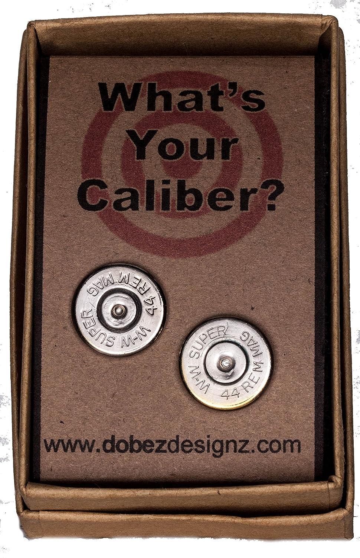 W-W .44 Magnum Winchester-Western Palladium Plated Ear Posts
