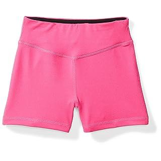 "Starter Girls' 3"" Training Bike Short, Amazon Exclusive, Power Pink, XS (4/5)"