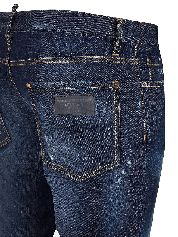 DSquared2 Slim Jean S74LB0012 Jeans Blu Dsquared D2 Uomo