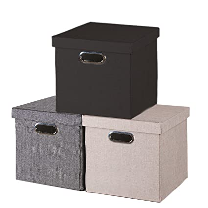Folding Storage Cube With Lid Other Home Organization