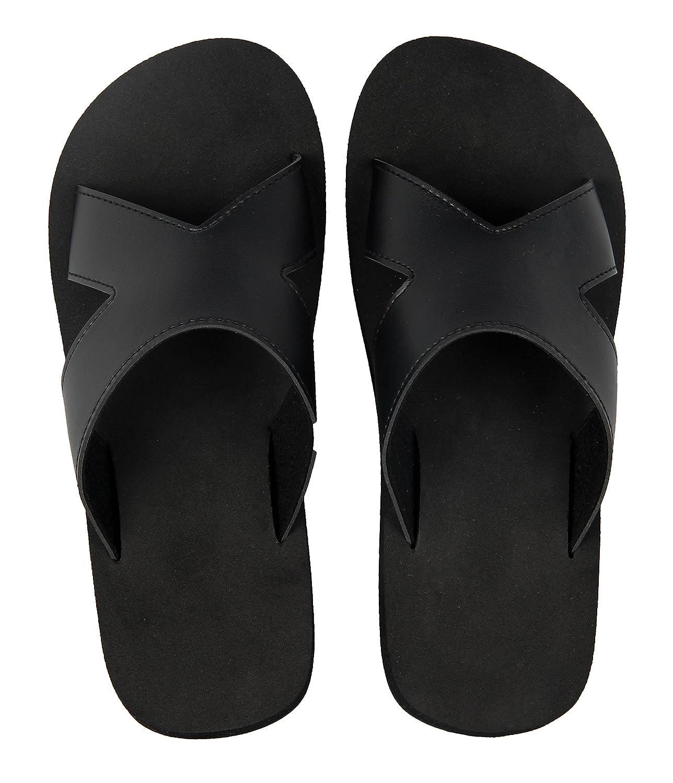 iLoveSIA Chaussure Tongs Sandales Nu Pieds de Plage Piscine Homme Femme
