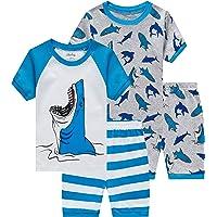 Bedlam Boys Pyjama Sleep Shorts Longer Length Cotton Nightwear Single OR 2 pack
